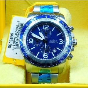 FIRM PRICE-INVICTA BLUE DIAL MEN'S WATCH